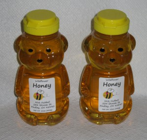 12oz Honey Bears.